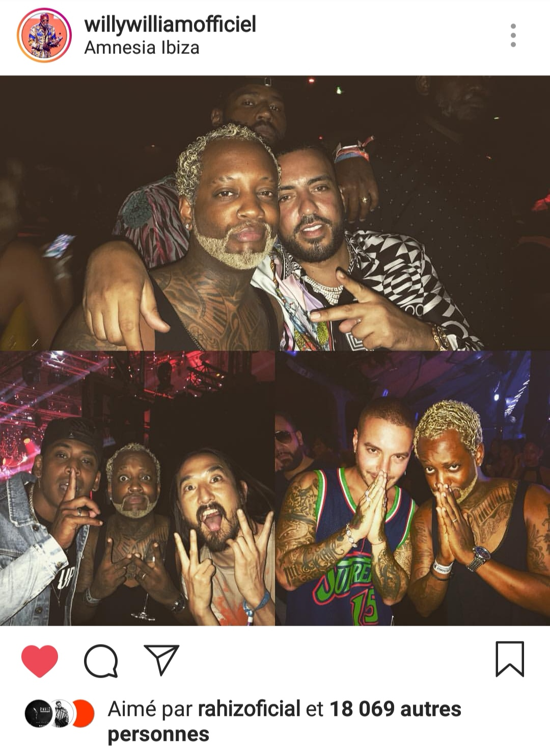 Willy William French Montana Steeve Aoki